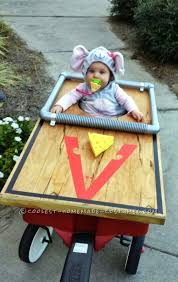 Homemade Cabbage Patch Kid Halloween Costume Awesome Baby Stroller Halloween Costumes Stroller Halloween