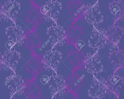 seamless floral pattern of different shades of purple royalty free