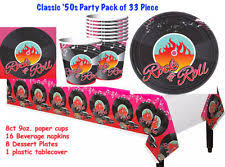 Rock And Roll Party Decorations Amscan Music Party Decorations Ebay