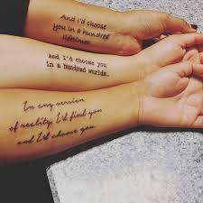 25 sister tattoos that show your unique bond
