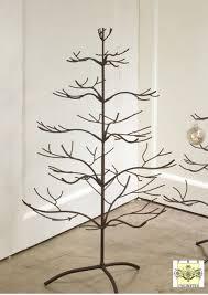 a brand new display tree with a beautiful mahogany finish