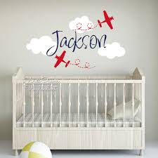 Baby Name Wall Decals For Nursery by Online Get Cheap Airplane Wall Decals For Nursery Aliexpress Com