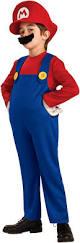 Super Mario Halloween Costume Super Mario Bros Mario Deluxe Toddler Child Costume Mario