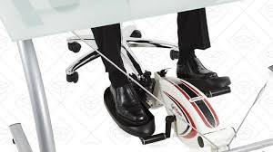 Under Desk Exercise by Get A Workout While You Work With This Under Desk Elliptical