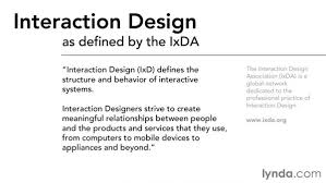 interaction design what is interaction design