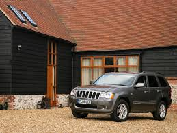 jeep cherokee brown jeep grand cherokee overland uk 2008 pictures information