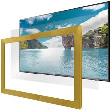 hidden television framed u0026 frameless dielectric mirror tv
