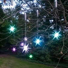 skillful solar powered outdoor tree trees lighted lights