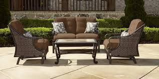 Lazy Boy Wicker Patio Furniture by La Z Boy Outdoor Dylan 4pc Motion Set Shop Your Way Online
