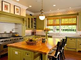 Green Country Kitchen Home Decorating Design Country Kitchen Designs Layouts