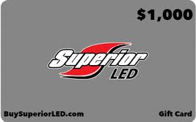 1000 gift card 1000 gift card superior led