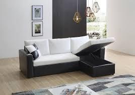 canap d angle bois et chiffon pacific blanc canapés d angle salon salle à manger