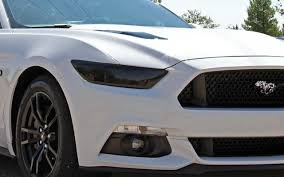 mustang headlight covers gts gt0994s headlight blackout covers for 2015 2017 mustang pfyc