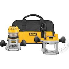 shop dewalt 2 25 hp variable speed combo fixed plunge corded