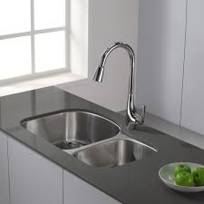 Stainless Faucets Kitchen by Giagni Fresco Stainless Steel 1 Handle Pull Down Kitchen Faucet
