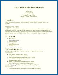 some exles of resume resume skills exles entry level embersky me