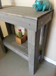 diy entryway table plans diy pallet entryway table pallet furniture plans
