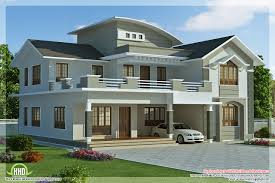 new design home plans house plan and elevation for a 4bhk house