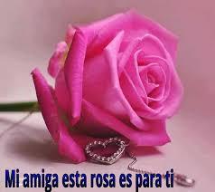 imagenes con flores azules dia de la maestra amiga esta rosa es para ti pensamientos pinterest rosas y