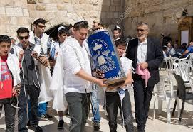 bar mitzvah israel jerusalem israel oct 06 2014 bar mitzvah ritual at the