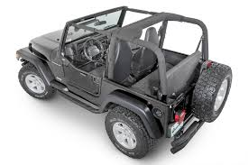pink jeep liberty spiderwebshade shadeskins for 97 06 jeep wrangler tj with rancho