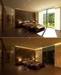 Schlafzimmer Romantisch Dekorieren Zeitgenössisch Led Deko Ideen Lampen Wohnzimmer Streifen Mit Band
