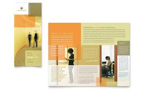 hr consulting tri fold brochure template word u0026 publisher