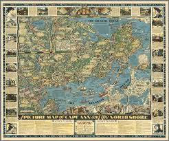 Massachusetts County Map by A Picture Map Of Cape Ann And The North Shore Essex County