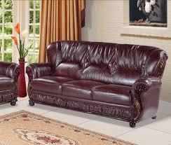 Burgundy Leather Sofa Ideas Design Fresh Modern Burgundy Leather Sofa 16946