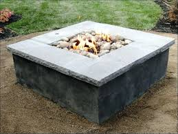 How To Build A Gas Firepit Diy Pit Table Outdoor Gas Fireplace Plans Cut Melamine For