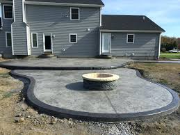 Concrete Backyard Ideas 100 Stamped Concrete Patios Pictures Stamped Concrete Patio