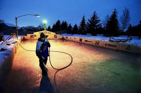 backyard ice rink plans