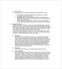 Free Coffee Shop Business Plan Template coffee shop business plan template 9 free sle exle format