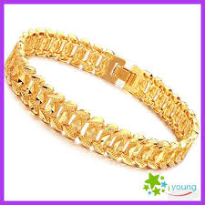 mens gold hand bracelet images 2018 famous brand mens hand accessories 18k gold plated bracelets jpg
