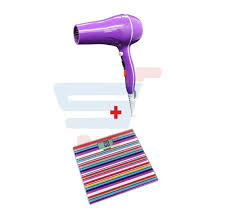 light pink hair dryer buy bundle combo offer sonashi digital bathroom scale purple multi