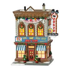 Christmas Village Sets Amazon Com Department 56 A Christmas Story Village Lit Miniature