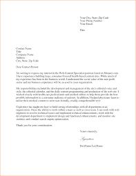job cover letters sample gallery letter samples format