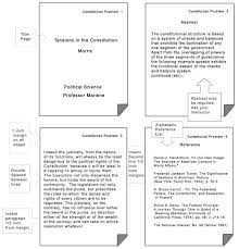 apa format notes conventional language sle apa essay with notes