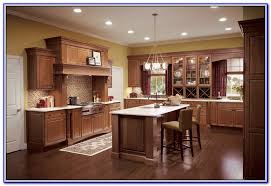 kitchen wall colors with dark cherry cabinets painting home