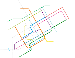 Metro Map Montreal by