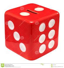 money box money box dice royalty free stock image image 19305536