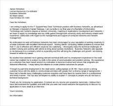 information technology cover letter template vascular