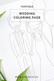 wedding and unicorn coloring pages to download lovilee