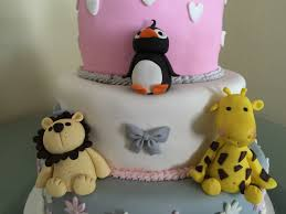 zoo themed baby shower cake cakecentral com
