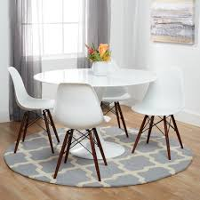 Dining Chair Deals Poly And Bark Vortex Dining Chair With Walnut Legs Set Of 4