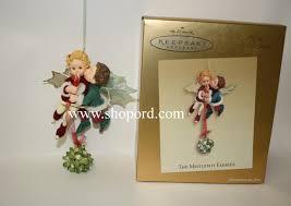 hallmark 2003 the mistletot faeries keepsake ornament club koc