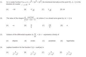 pattern of gate exam free sle paper 01 for gate civil engineering nata gate ceed nid