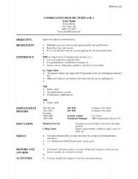 Resume Templates Word 2013 Resume Template 85 Amazing How To Make One Page A Simple Resume