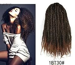 ombre marley hair amazon com marley afro braid ombre hair extensions kinky curly