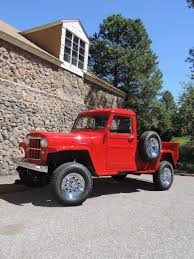 willys jeep truck alan st germain